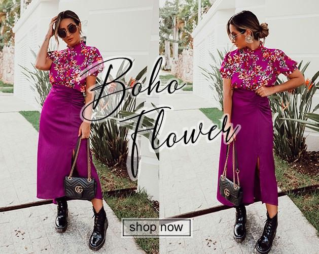 Boho flower