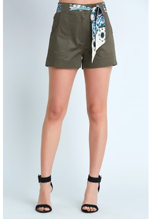 SHORTS CURTO COTTON SATIN COM LENCO
