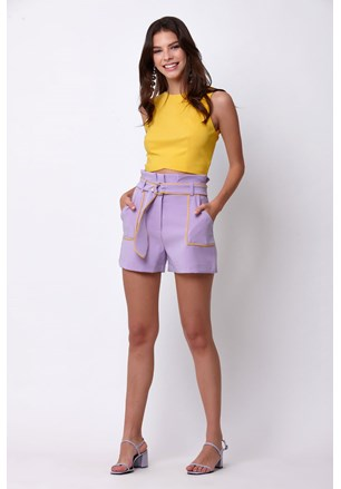 SHORTS POLY TWO WAY COM CINTO